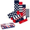 4-er-Pack Happy Socks Stripe Socks Gift Box