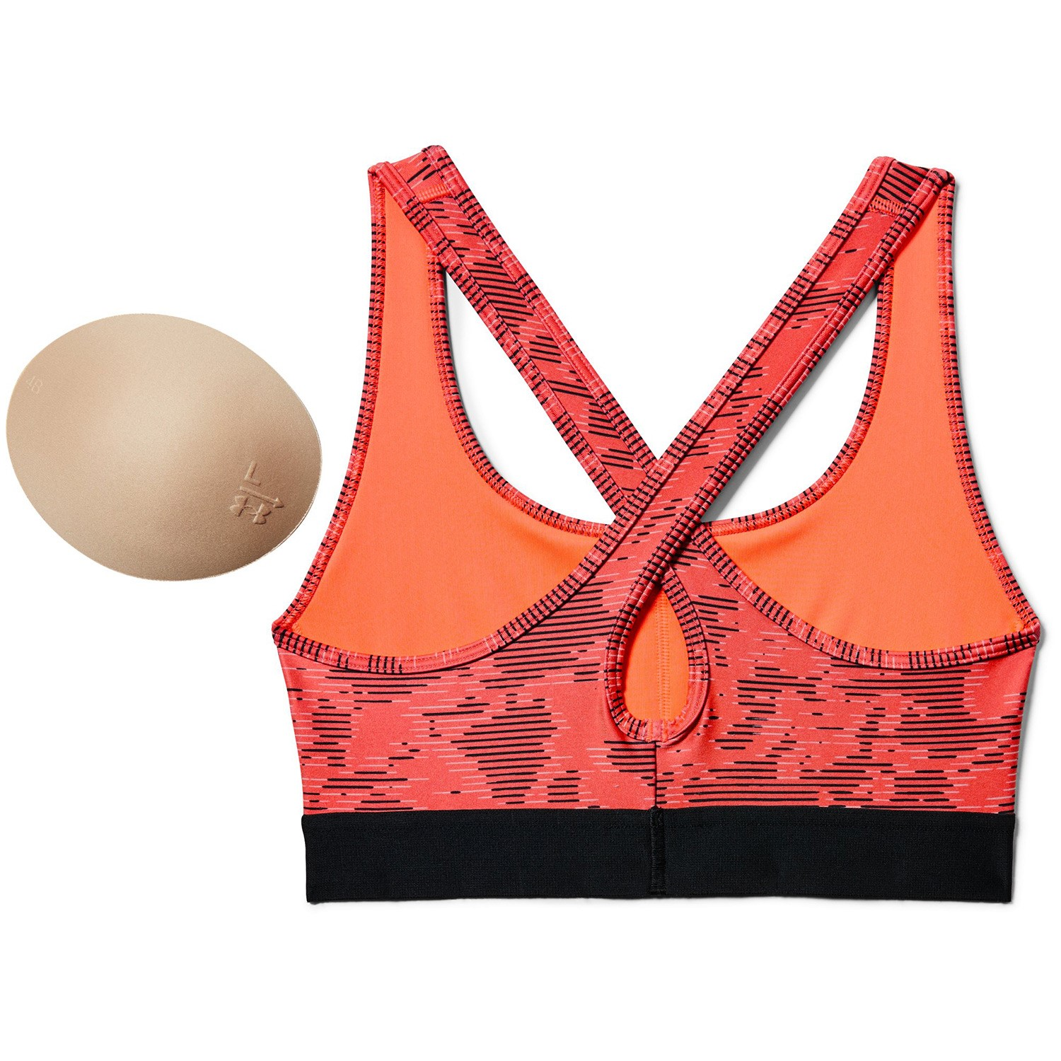 55349bc0a8def Under Armour Mid Crossback Print Sports Bra - Sports bra - Sports bra -  Timarco.eu