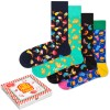 4-er-Pack Happy Socks Junkfood Gift Box