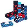 4-er-Pack Happy Socks Nautical Gift Box 630