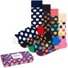 4-er-Pack Happy Socks Dot Gift Box