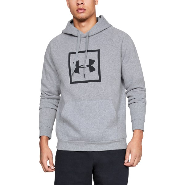 Under Armour Rival Fleece Logo Hoodie - Grey * Kampagne *