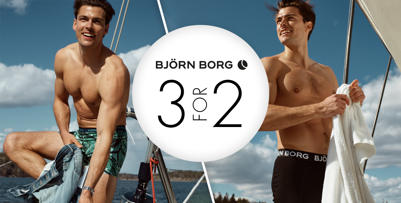 Björn Borg 3 for 2 - Timarco.co.uk