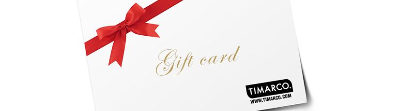 Timarco cadeaukaart - Timarco.nl