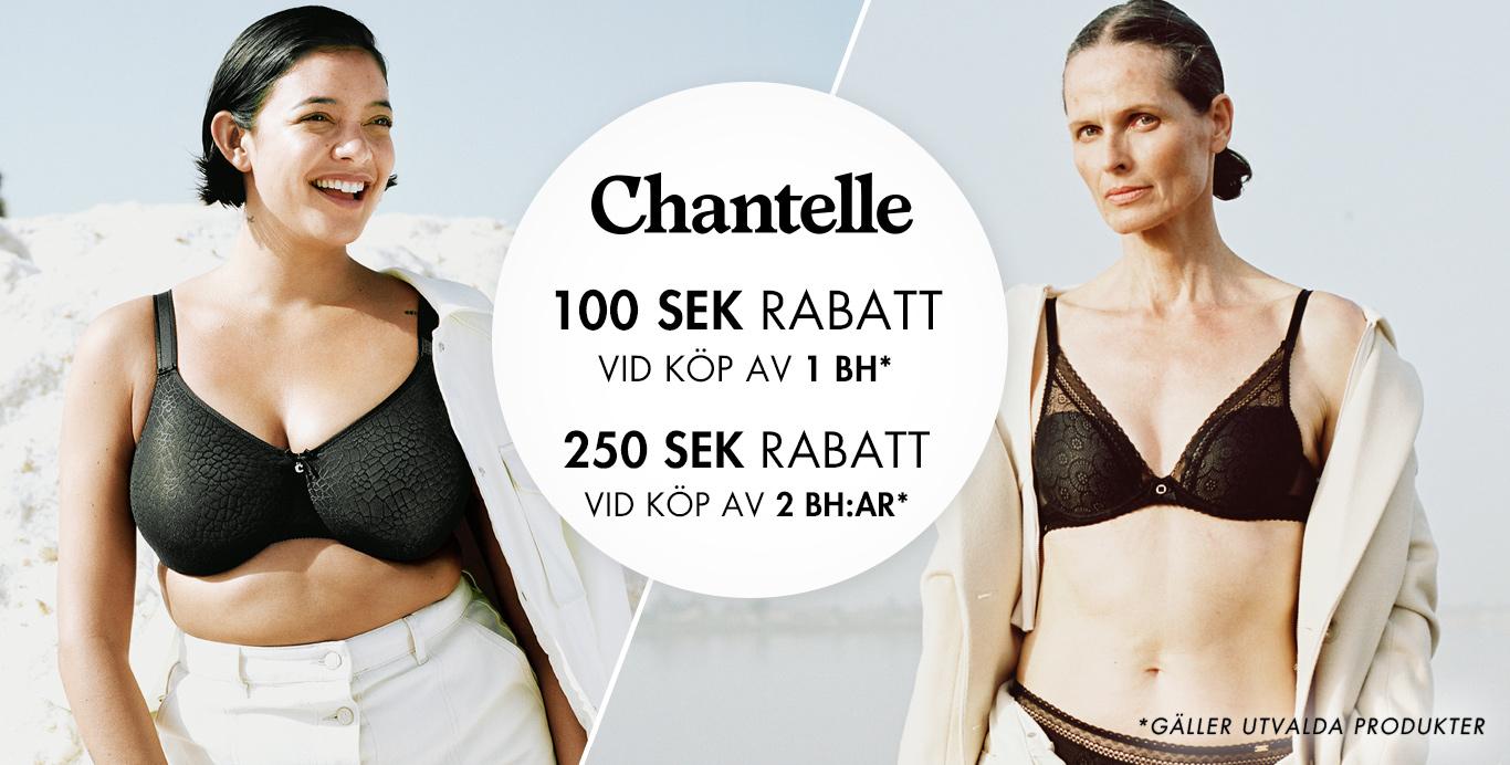 Chantelle 100 sek rabatt - Timarco.se