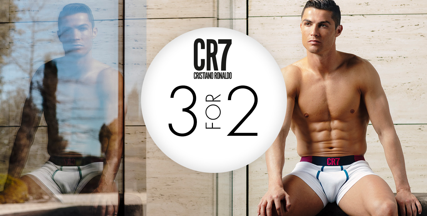 cr7 3 for 2 - Timarco.dk