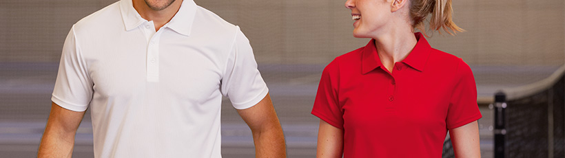 Short and long-sleeved polo shirts for men and women - Timarco
