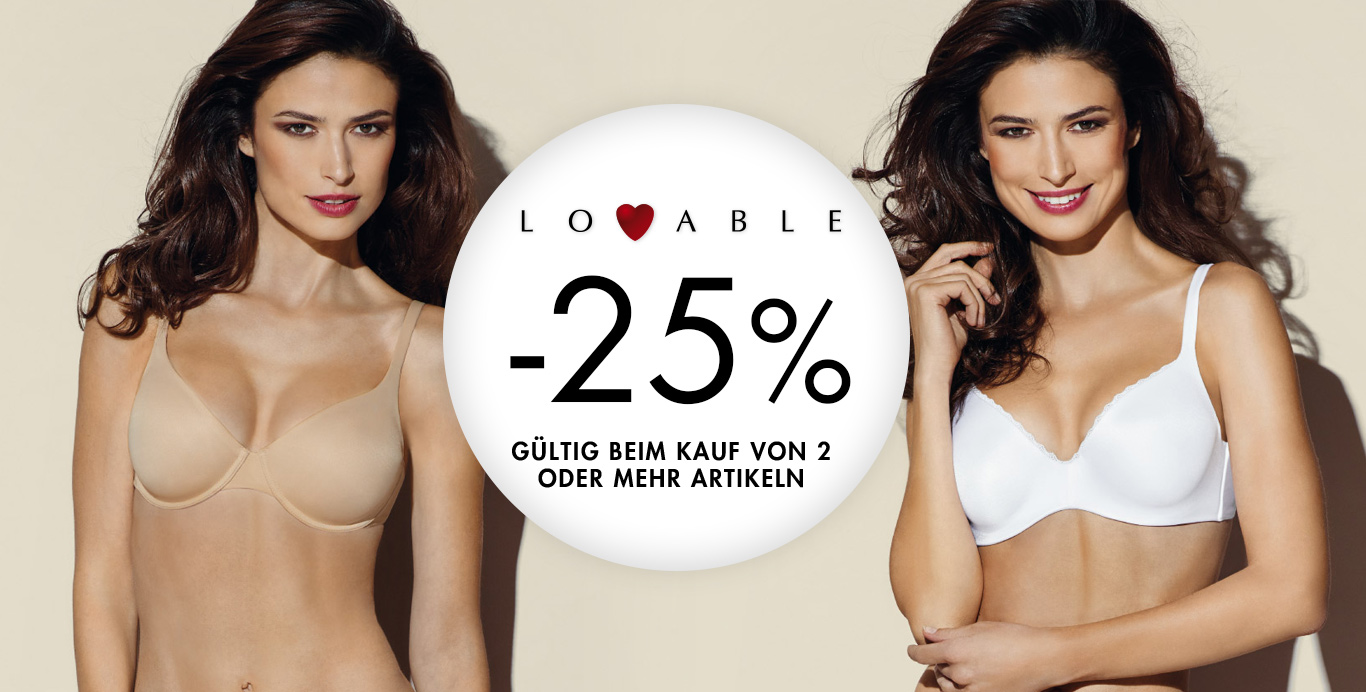Lovable 25% - Timarco.at