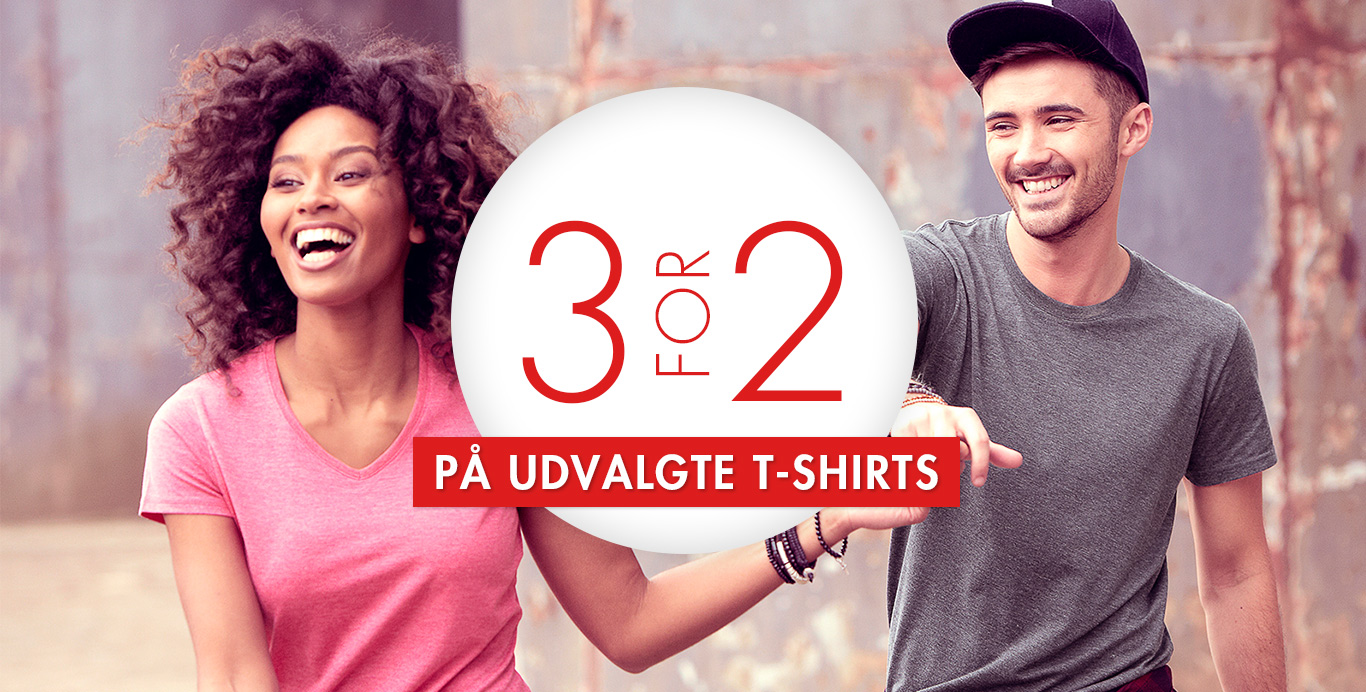 Tshirts 3 for 2 - upperty.dk