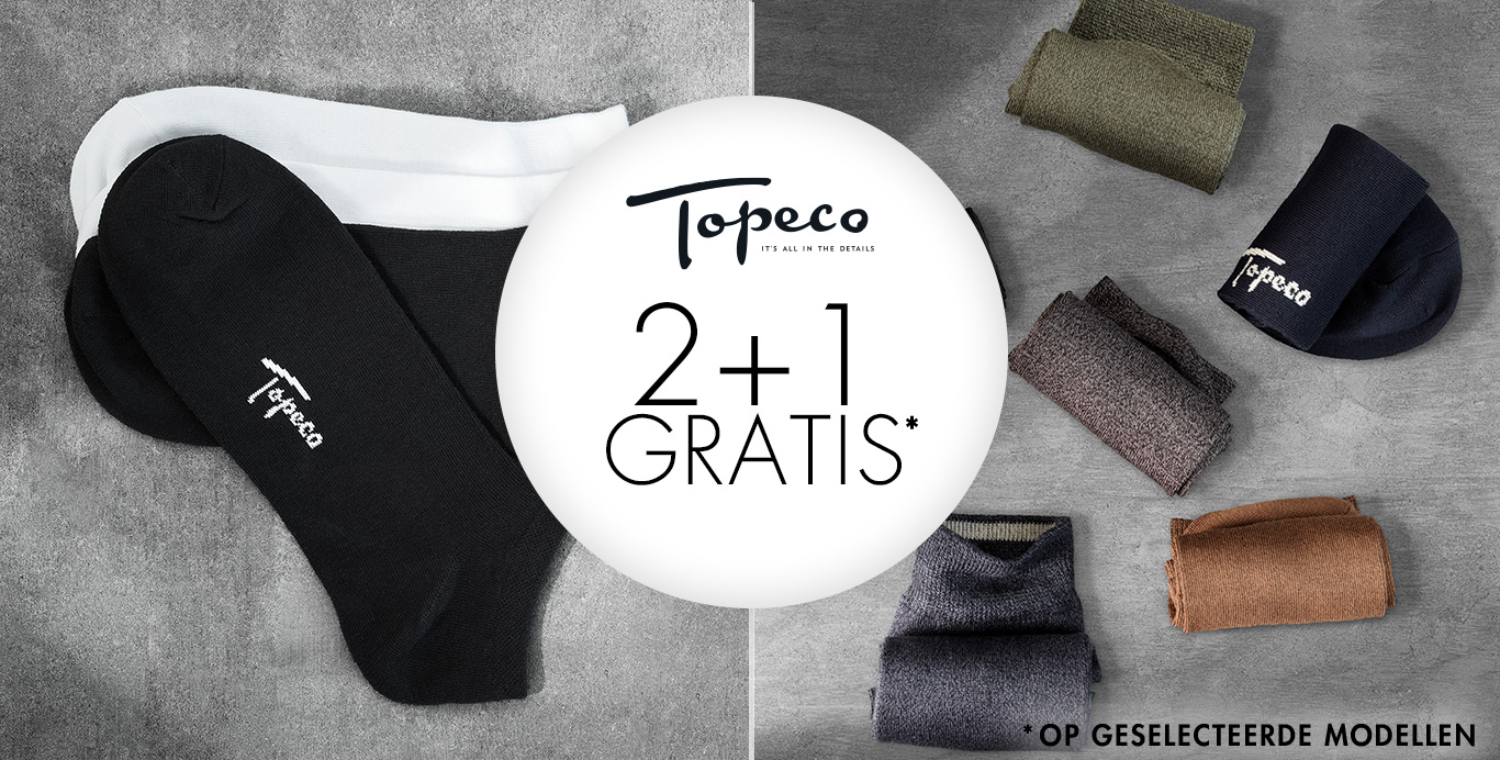 Topeco 2+1 gratis - Timarco.nl
